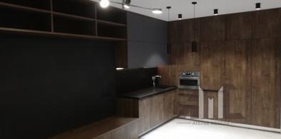 Современная кухня под заказ ВИД 2